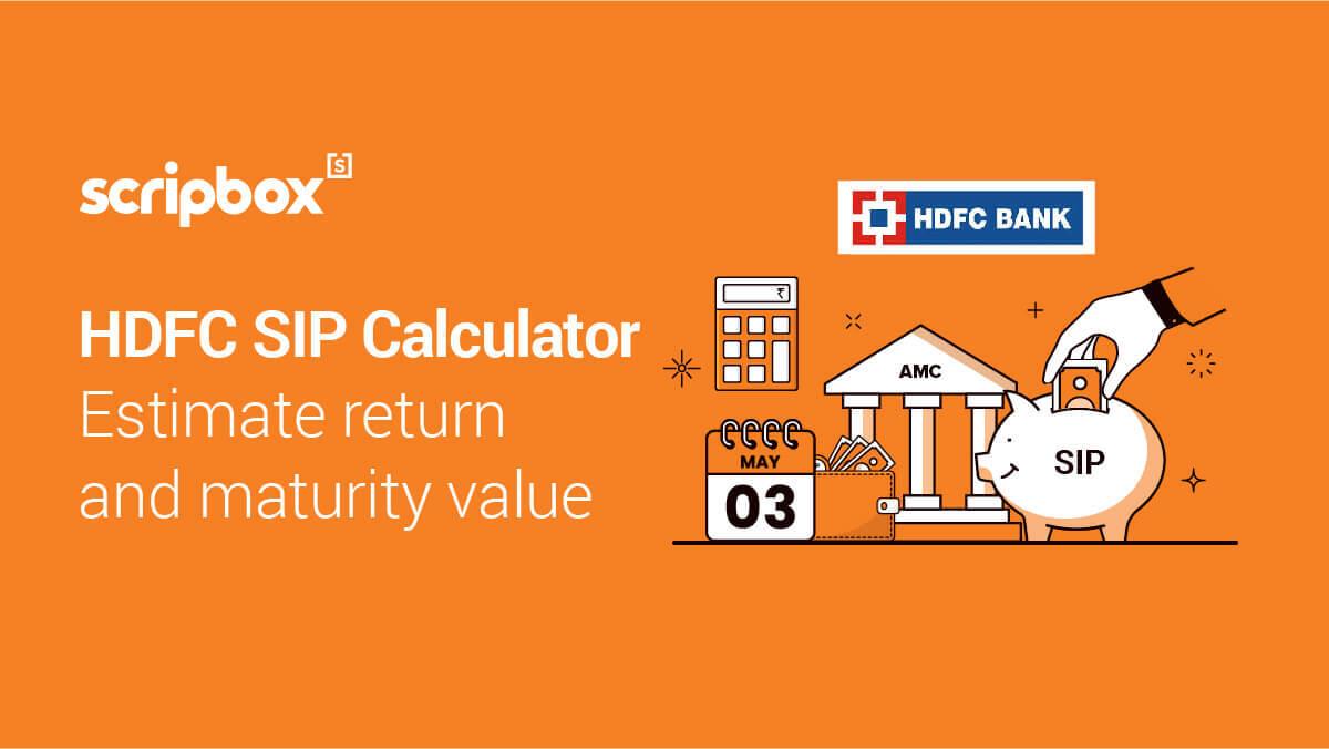 HDFC SIP Calculator